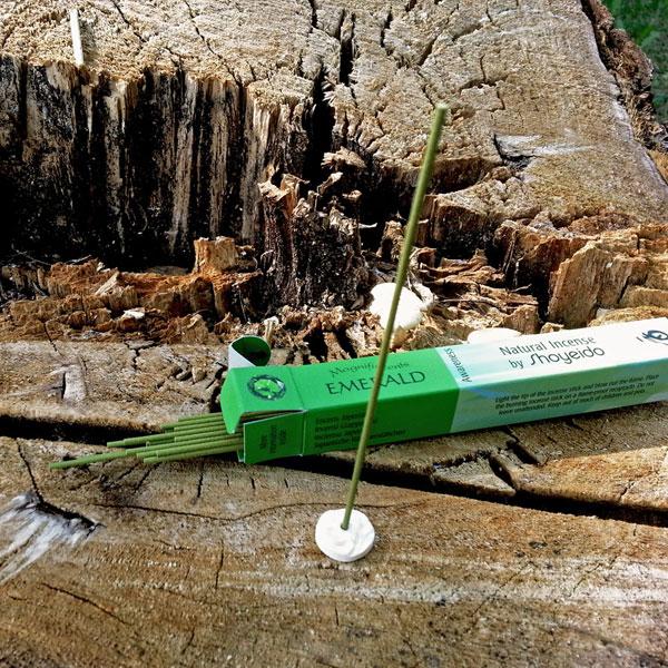 Smeraldo Lucidita Incensi Giapponesi Naturali Vendita Online 2