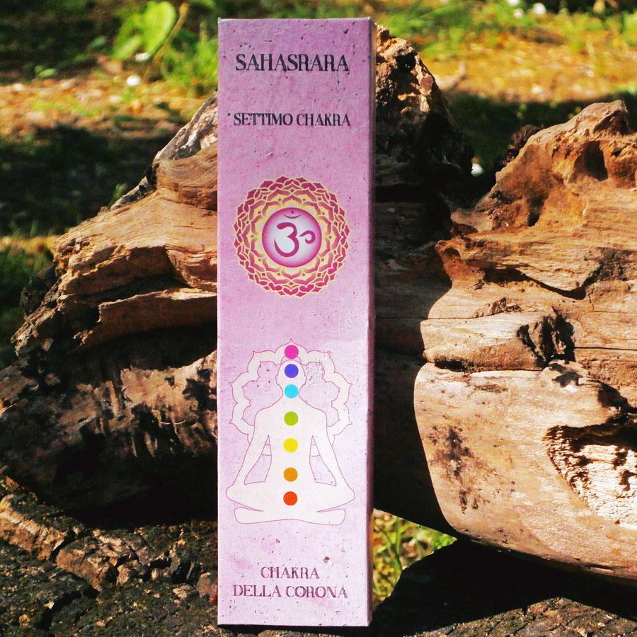 Sahasrara Chakra Della Corona Incensi Tibetani Naturali Vendita Online
