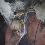 naso vicino fumi incenso